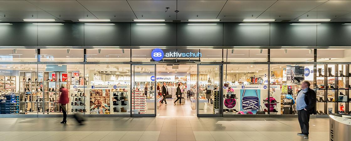 Aktiv Schuh Hauptbahnhof